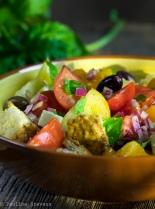 Panzanella salad-1